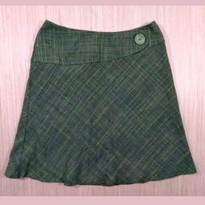 Tailor B.Moss green midi skirt sz 8